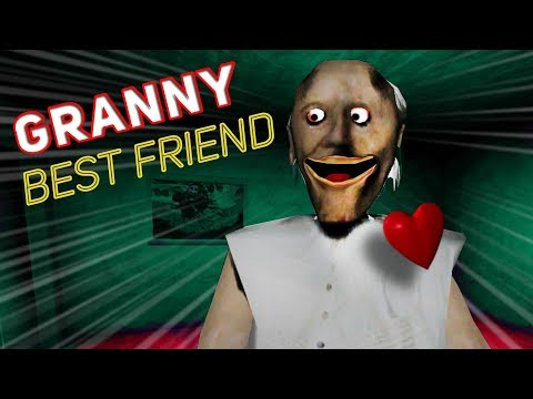 Granny Becomes OUR BEST FRIEND!!! Granny Mobile Horror Game (Messing Around)