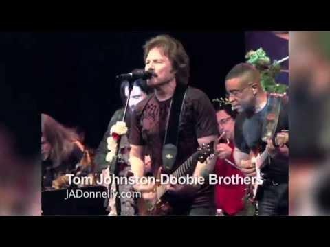 Carlos Santana, Tom Johnston, Sammy Hagar, Clarence Clemons, Jeff Watson