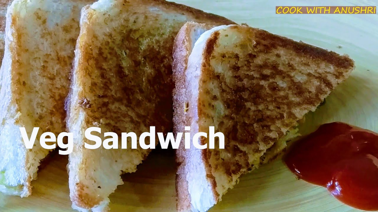 Veg Sandwich Recipe | तवे परआसान वेज सैंडविच | Healthy and Tasty Vegetable Sandwich on Pan/Tawa |