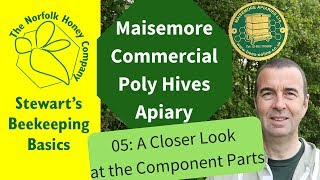 The Maisemore Poly Commercial Hive Component Parts