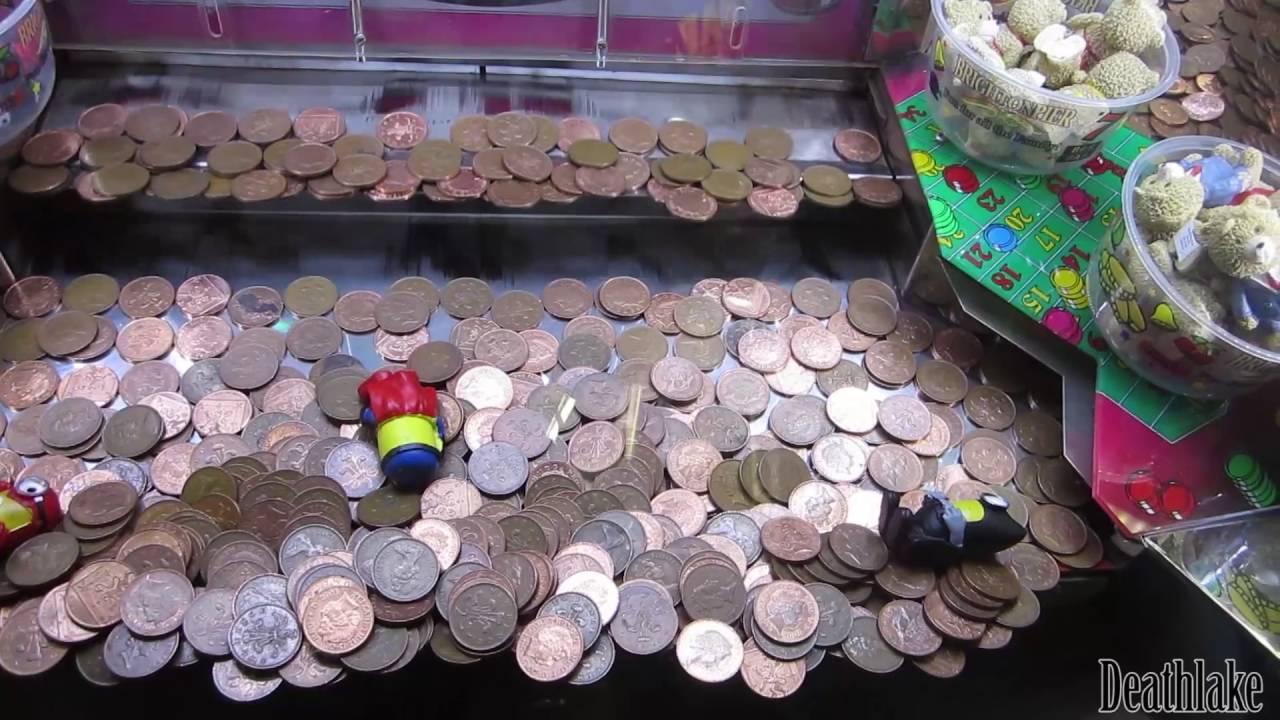 minions 2p coin slot machine - YouTube