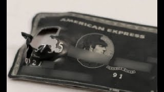 """This titanium Amex """"black card"""" helped stop a hitman's bullet"""