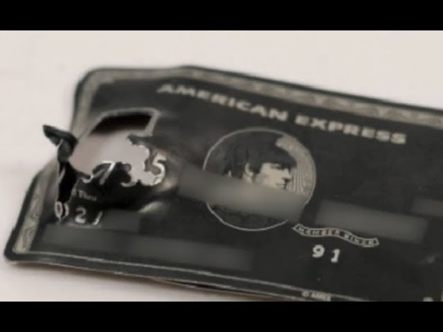 Elite credit card made of titanium helped stop hit man's