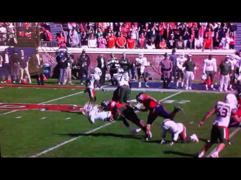 Jacory Harris gets wrecked by Virginia DT John-Kevin Dolce