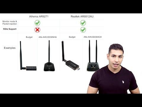 Best USB Wireless (WiFi) Adapters For Hacking