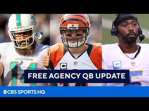 NFL Free Agency: All of the Latest QB Signings | CBS Sports HQ