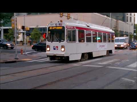SEPTA Trolley Action Part 1