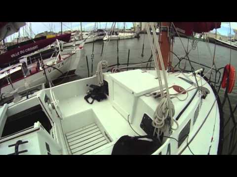 "Moitessier's Historic Yacht ""Joshua"" at the 2012 Vendee Globe - Sailing Anarchy Boat Tour.mp4"