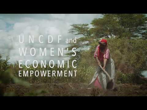 UNCDF and Women's Economic Empowerment