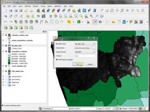 Part 2 - Raster Data & Terrain Analysis in QGIS