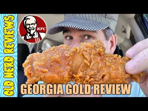 KFC Georgia Gold Chicken Tenders REVIEW 🐔🍗