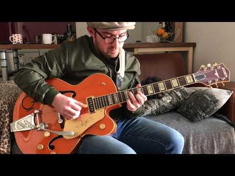 Adrian Whyte - Blue Moon of Kentucky (Elvis) - Fingerstyle