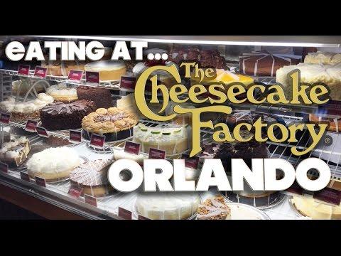 EATING AT - CHEESECAKE FACTORY - ORLANDO - MALL AT MILLENIA