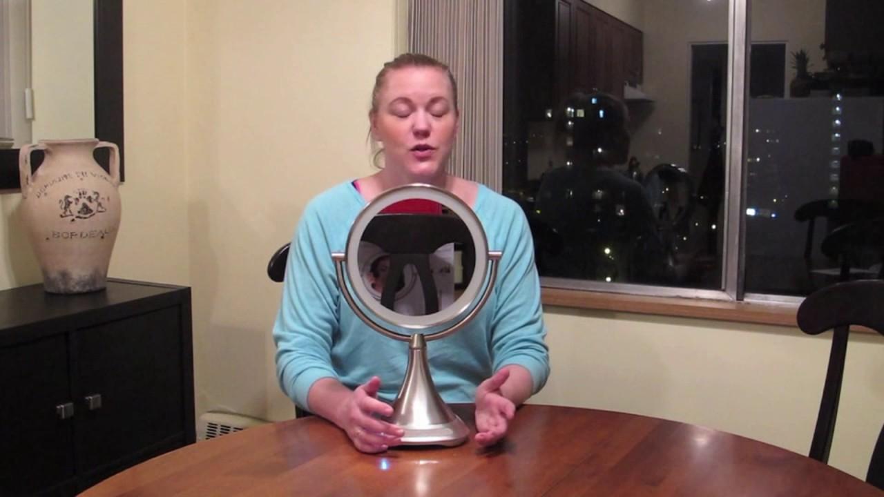 Ihome Vanity Mirror Bluetooth Speaker Blogger Review Youtube