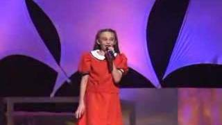 """Keely sings """"Tomorrow"""" from the Broadway show, Annie!"""