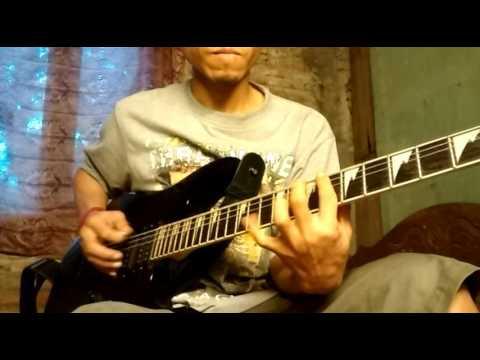 Burgerkill ft Ungu sepi gelisah guitar cover