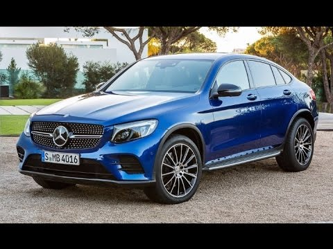 mercedes benz glc 220d 4matic coup 2017 interior exterior review youtube. Black Bedroom Furniture Sets. Home Design Ideas
