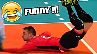 The Most Funniest Volleyball Saves EVER !!! (HD)