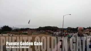 Puente Golden Gate e Isla de Alcatraz