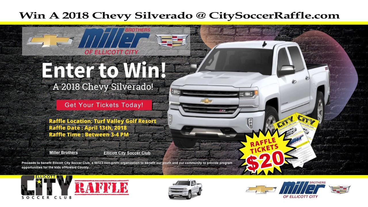 Ellicott City Soccer Club- Truck Raffle 2018