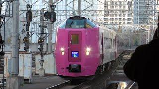 キハ261系5000番台はまなす編成 宗谷 札幌駅にて