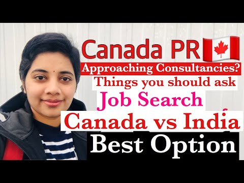 Real situations | How to get a job in Canada  | Job search |  Telugu Vlogs #canadapr #Srivanitalks