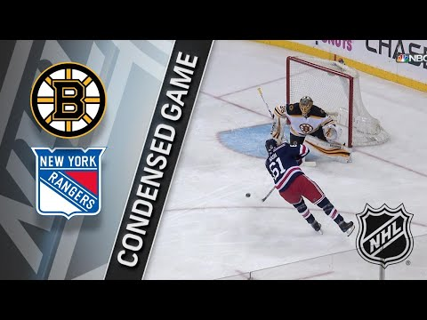 02/07/18 Condensed Game: Bruins @ Rangers
