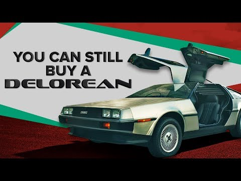 You can still buy a brand new DeLorean, straight from the factory