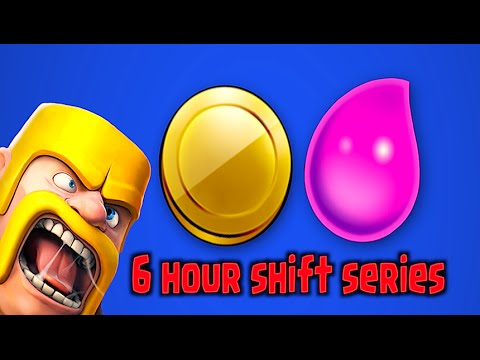 Clash Of Clans - 6 Hour Shift Series Ep.1