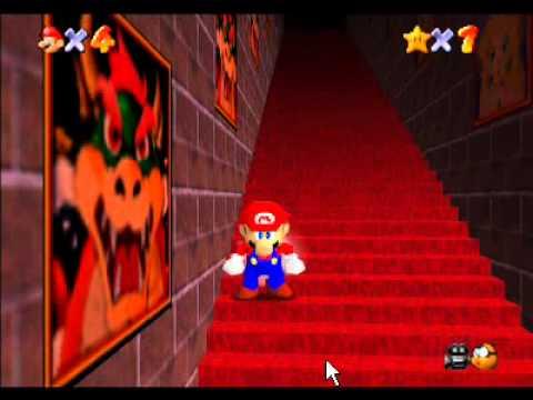 Super mario 64 retando a las escaleras infinitas youtube for Escaleras infinitas