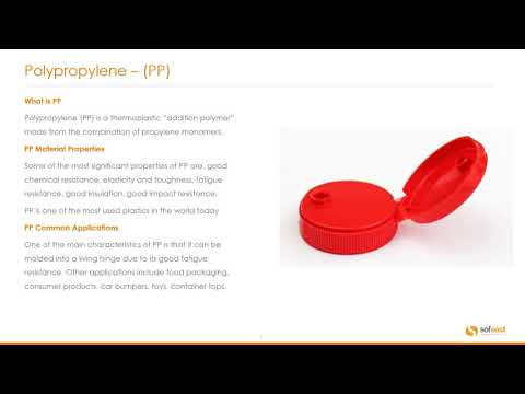 Injection Molding Plastic Types & Applications