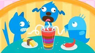 Малыши саго мини в кафе животных | супер заморозка из коктейлей в детской игре