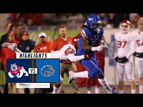 No. 23 Fresno State vs. Boise State Football Highlights (2018) | Stadium