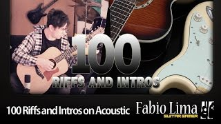 Baixar 100 Riffs and Intros on Acoustic Guitar by Fabio Lima