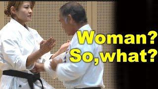 Okinawa Karate doesn't matter if it's a WOMAN or not | Uechi-ryu Kitae Sanchin | 上地流 鍛え | サンチン