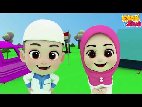 Lagu Anak Balita Islami – Berhitung Angka Arab – Evan dan Ziva Lagu Anak Indonesia