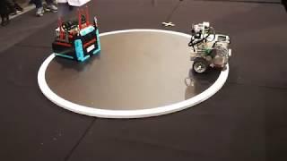Robotex 2017. Lego sumo robots 15x15, 1 kg. Лего сумо роботы.
