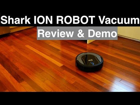 953867078db2 Shark Ion Robot Vacuum Cleaning System Review and Demo - YouTube