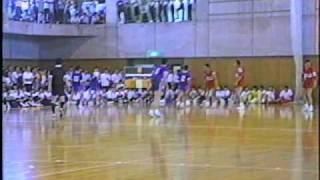 6/6ハンドボール決勝 横浜商工vs桐光学園1993年インターハイ神奈川予選