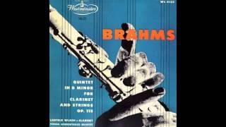 Silent Tone Record/ブラームス:クラリネット五重奏曲/レオポルト・ウラッハ、ウィーン・コンツェルトハウス弦楽四重奏団/サイレント・トーン・レコード