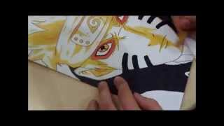 How to Draw/Como desenhar - Naruto Nine-Tails Sennin mode