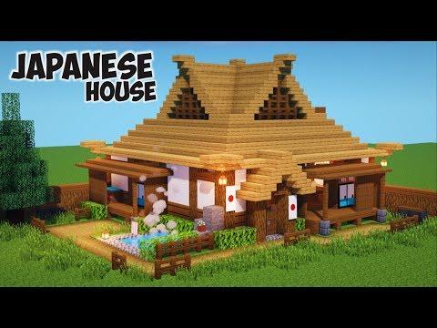 Cara Membuat Rumah Jepang Di Minecraft !    Minecraft Medieval Pt.7
