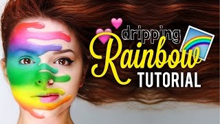 DRIPPING RAINBOW • Tutorial ❤