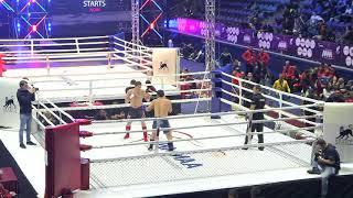 93kg: Osman Abdulazizov (Kyrgyzstan) vs. Muslim Magomedov (Russia) p1. 2017 World MMA Championships