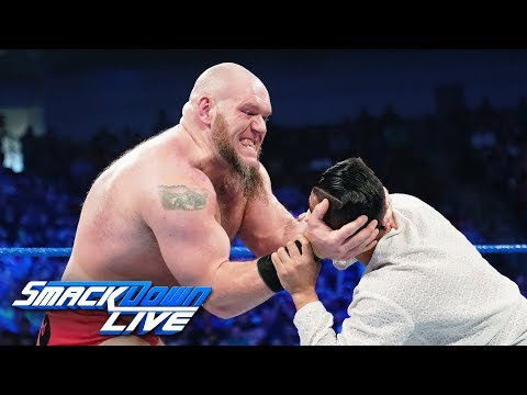 Lars Sullivan continues his path of destruction: SmackDown LIVE, April 23, 2019