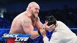 Lars Sullivan continues his path of destruction: SmackDown LIVE, April 23, 2019