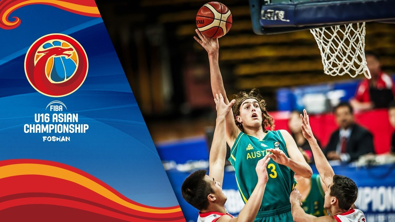 China v Australia - Highlights - Final - FIBA U16 Asian Championship