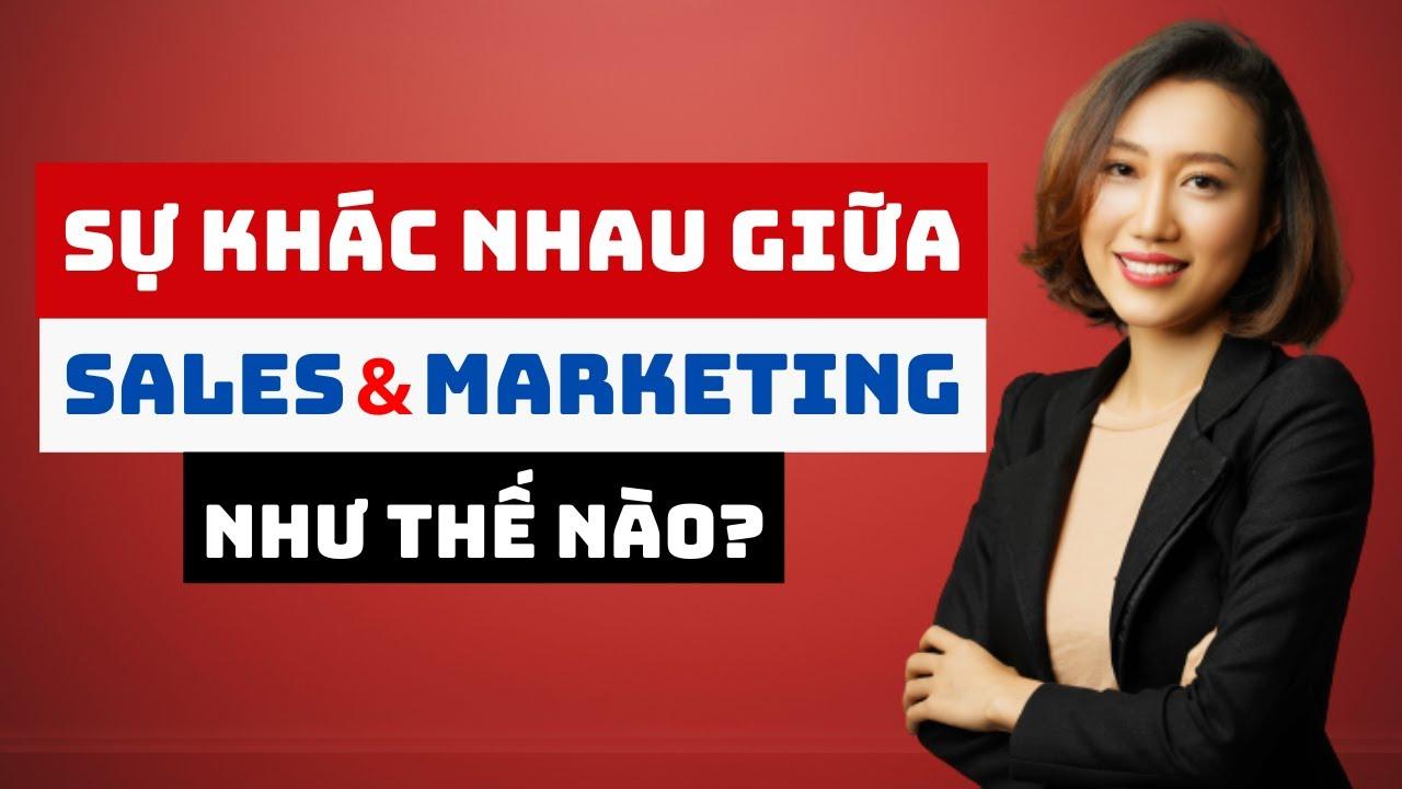 Sự khác Nhau Giữa Sales Và Marketing Như Thế Nào? | Nguyen Yen Ly