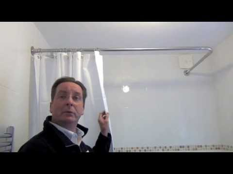 Byretech Shower Curtain Rail Installation