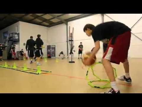 Entrenamiento intensivo de baloncesto